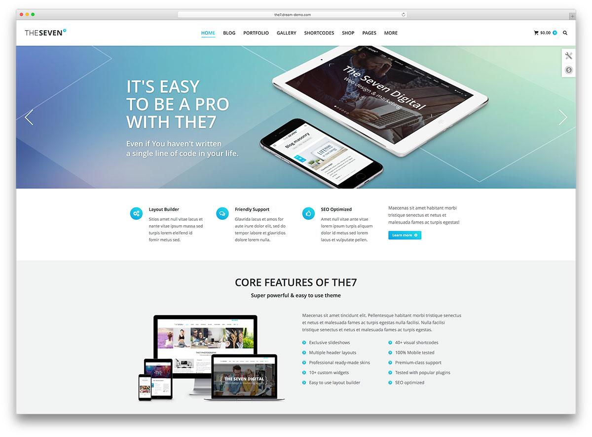 24-Premium Wordpress Theme For Creating Your Professional Website Design