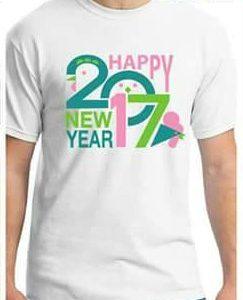 เสื้อยืดที่จะนำในช่วงปีใหม่